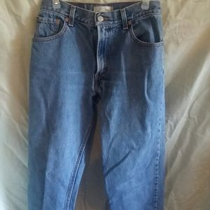 Levi relaxed fit 80s style jeans